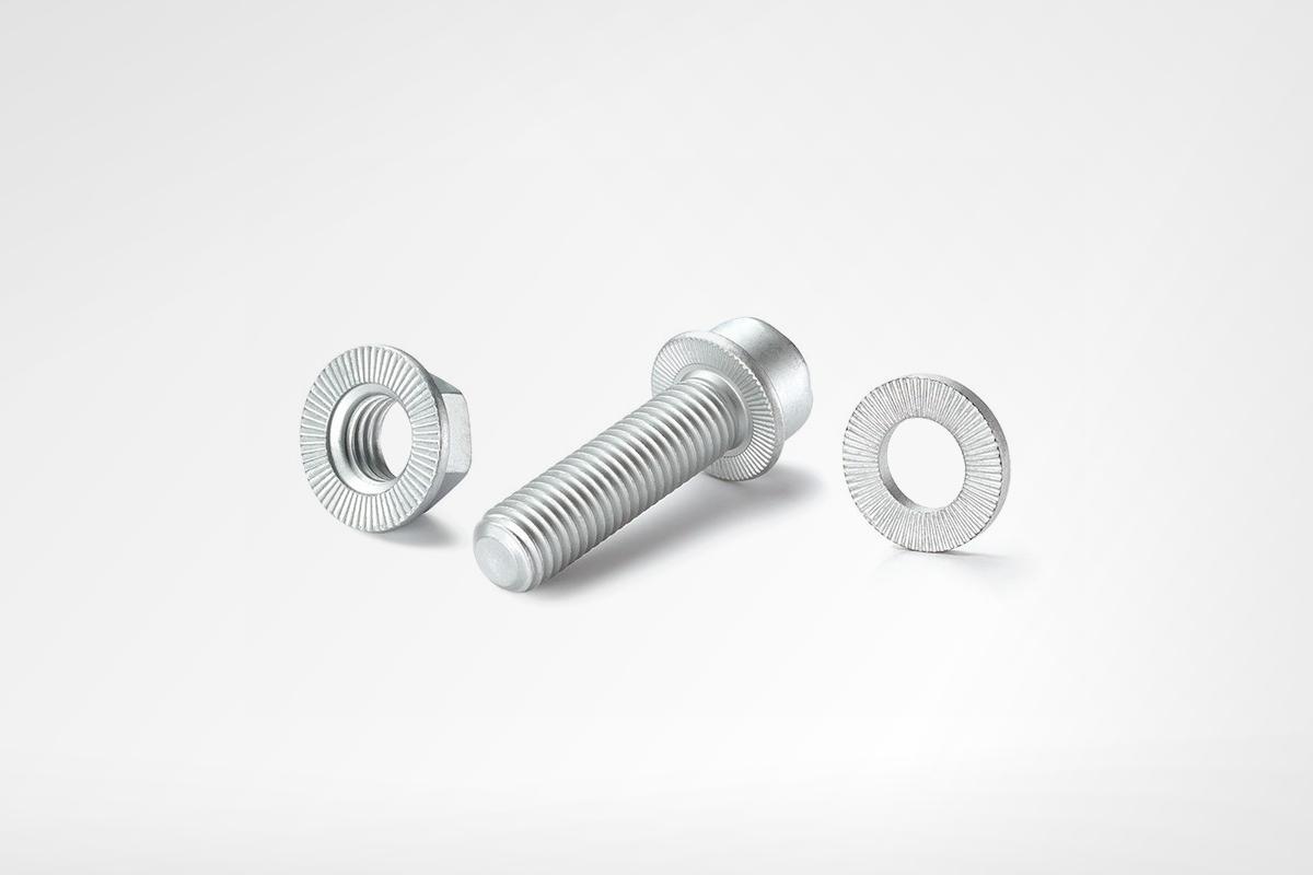 Ripp lock - заключваща шайба, заключваща гайка, болт