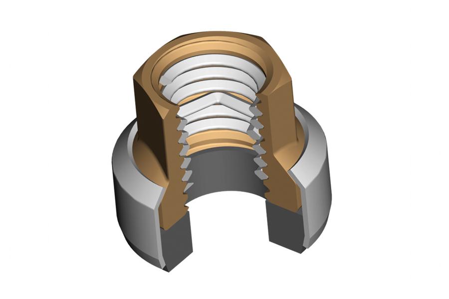 Helicoil - заключваща гайка хеликоил